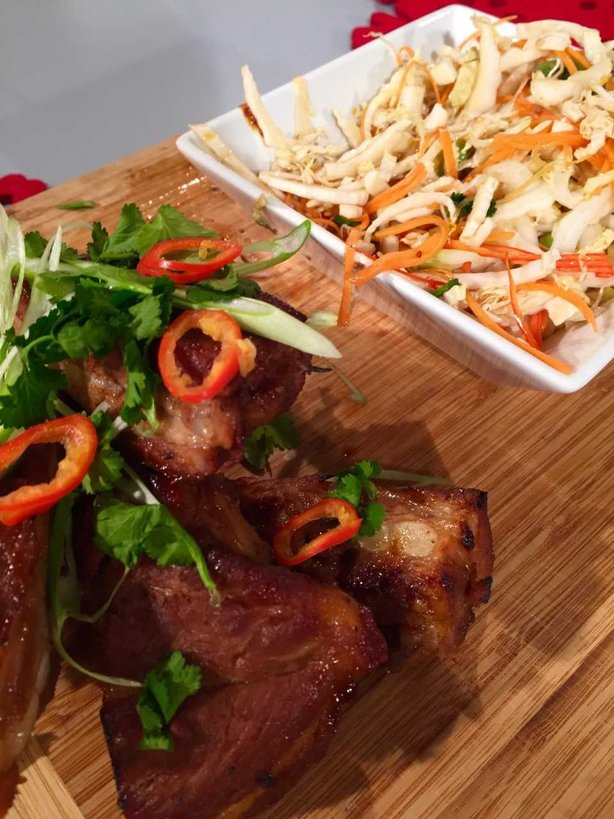 Wade's Sweet, Spicy & Sticky Ribs