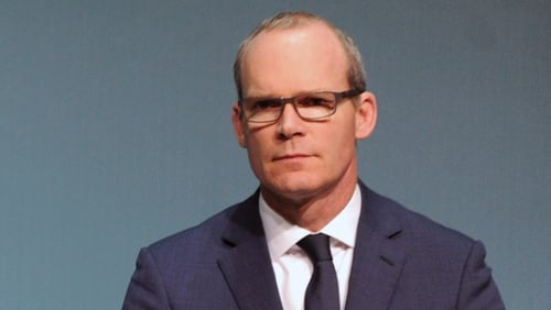 Simon Coveney said the EU is trying to protect the status quo on the island of Ireland
