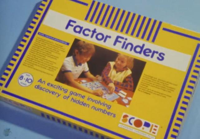 Factor Finders - Scope Educational