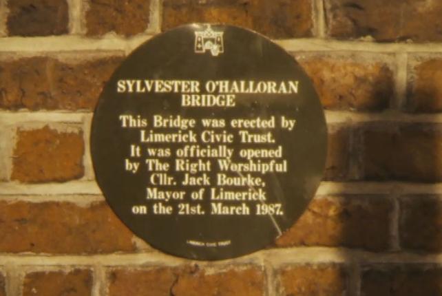 Sylvester O'Halloran Bridge, Limerick Potato Market (1987)