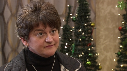Arlene Foster said the DUP had asked to see the text for nearly five weeks