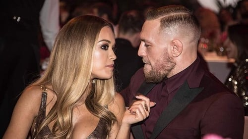 Rita Ora and Conor McGregor at the British Fashion Awards