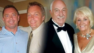 (L-R) Steven Alexander, his brother Doug Jnr and their parents Doug and Lily Ryan-Alexander died in the crash
