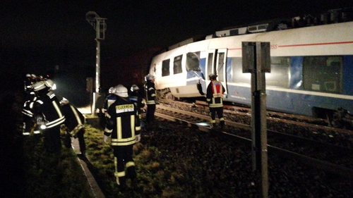 'Dozens injured' in German train collision