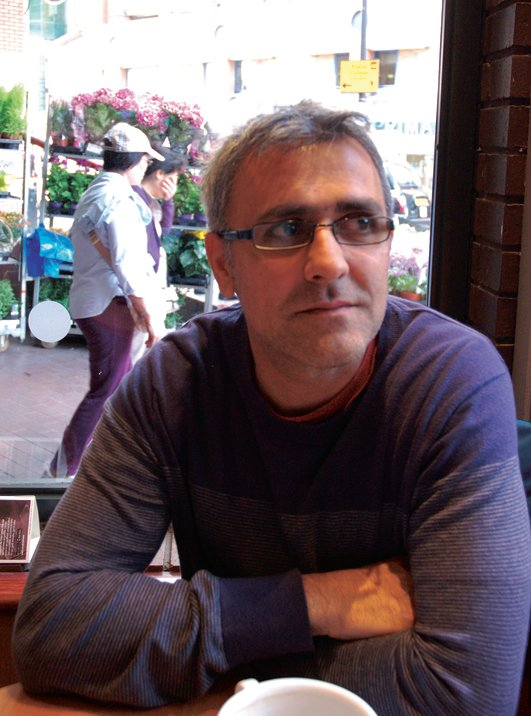 Daljit Nagra, judge of this year's Moth Poetry Prize