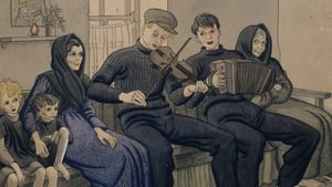 'Music on the Great Blasket Island' watercolour picture in 1933 (Pic: Irish Folklore Commission Collection)