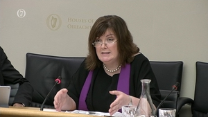 Oonagh McPhillips is before the Oireachtas Justice Committee