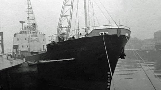 The Lady Patricia in Dublin Port (1962)