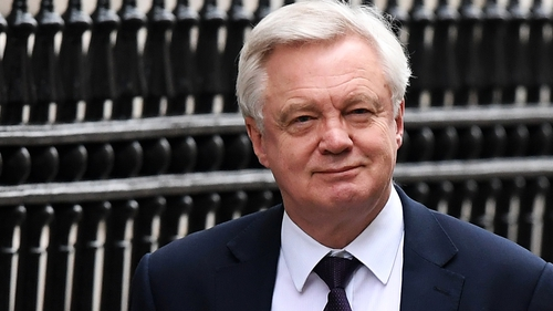 David Davis confirmed no impact assessments have been carried out by the government
