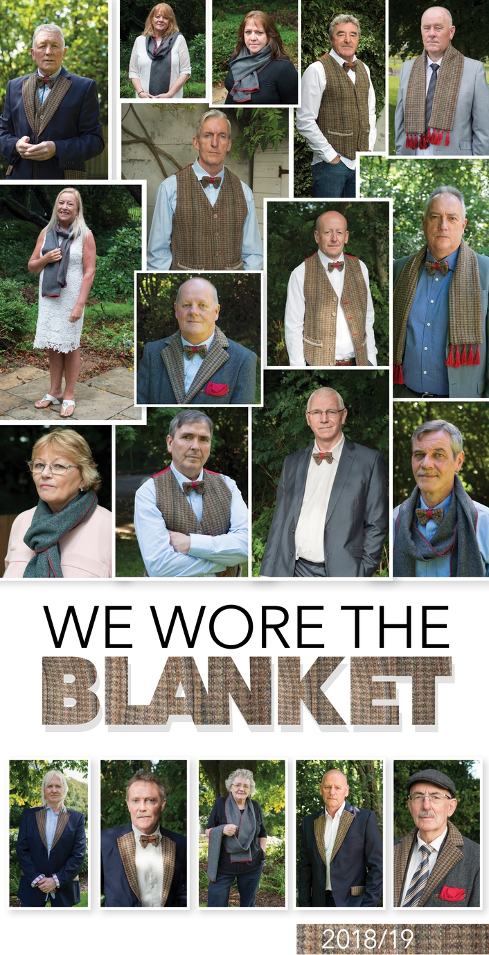 """We Wore The Blanket"", a calendar by Laurence McKeown"