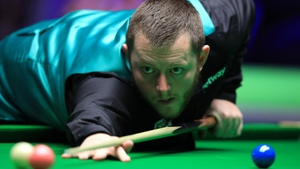 Mark Allen was edged out
