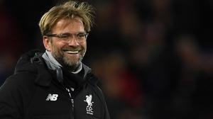 Jurgen Klopp was thrilled with his side's Anfield mastercalss