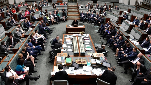 Australia's parliament in Canberra has passed a bill legalising same-sex marriage