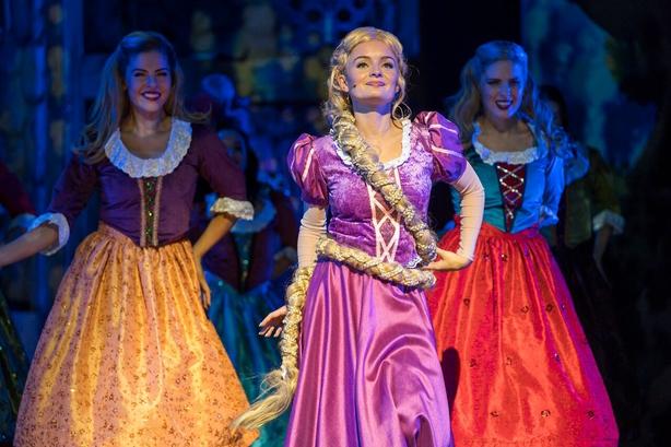 Ciara Lyons brings Rapunzel to life