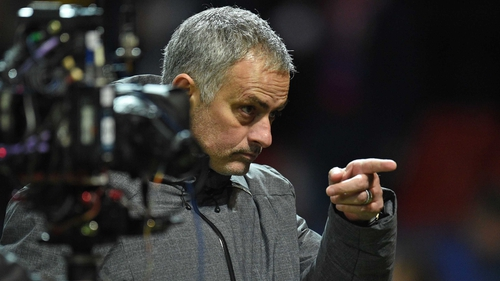 Here's looking at you: Jose Mourinho's Red Devils' clash with  Derby County will not be on the box