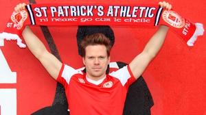 Simon Madden has joined St Pat's