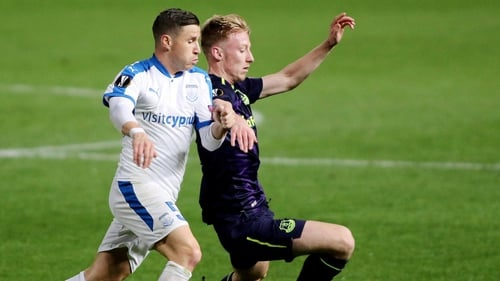 Ireland Under-21 defender Harry Charsley made his Everton debut