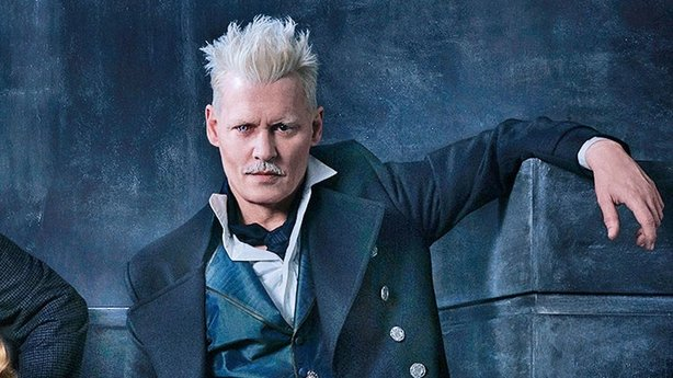 Johnny Depp in the Harry Potter prequel Fantastic Beasts The Crimes of Grindelwald