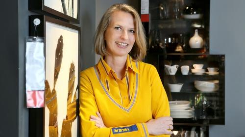 Claudia Marshall, IKEA Ireland's Market Manager, eyes strong future online sales