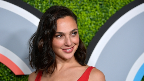 Honoree Gal Gadot stunned in a red dress at this year's GQ Men Of The Year Dinner at Chateau Marmont on December 7, 2017.