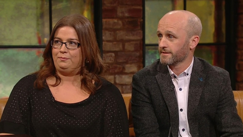 Andrea and Padraic Smith | The Late Late Show