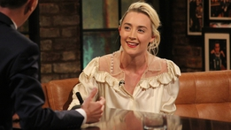 Saoirse Ronan | The Late Late Show