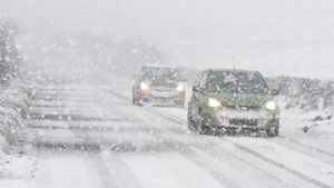 Met Eireann forecasts are for treacherous driving conditions for several days.