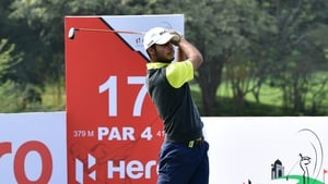 Shubhanker Sharma is on top at the Joburg Open