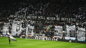 The supporters have been calling for change for some time at St James' Park