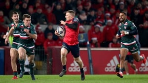 Andrew Conway has scored five tries in 14 appearances for Munster this season