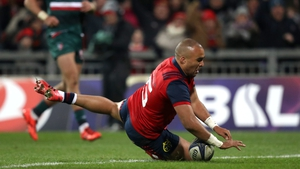 Simon Zebo is one of the players to keep his place in the much-changed Munster team