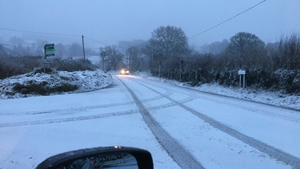 Sleet and hill snow expected to fall, particularly in parts of the north