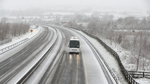 Wintry showers could lead to accumulations of ice on some routes