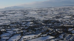 Snow covering the area around Crossmolina, Co Mayo