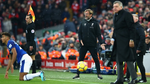 Jurgen Klopp was not a happy man at the final whistle