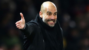 "Pep Guardiola: ""... maybe it's not enough to win at Champions League level or the Premier League."""