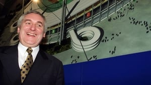 Bertie Ahern shared his soccer knowledge with the country in 2001