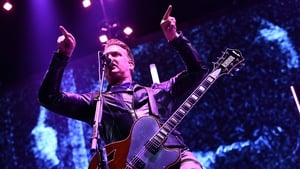 Josh Homme onstage at the Forum in Inglewood, California on Saturday -