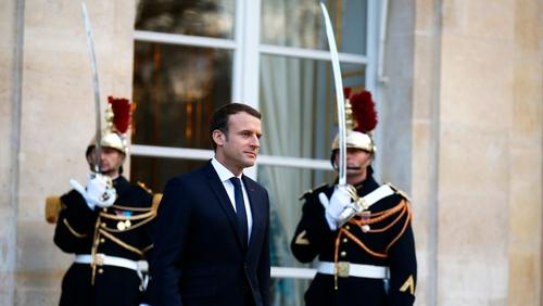 Emmanuel Macron believes Donald Trump will change his mind over Paris Accord