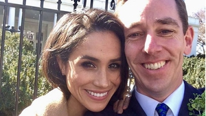 Tubs shared a picture with future royal Meghan Markle