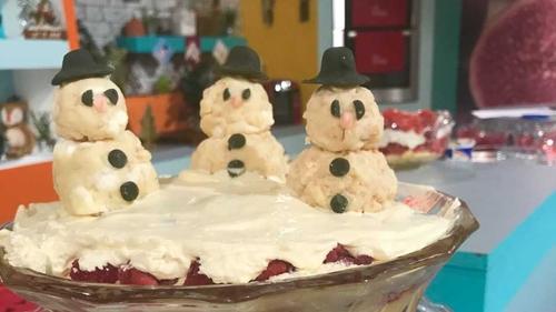 Catherine's Red Velvet Christmas Trifle