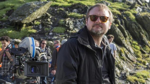 Star Wars director Rian Johnson loved filming in Ireland