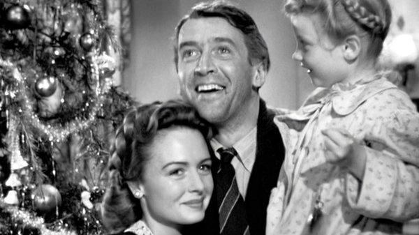 Home for the Christmas with James Stewart, Donna Reed) and Karolyn Grimes