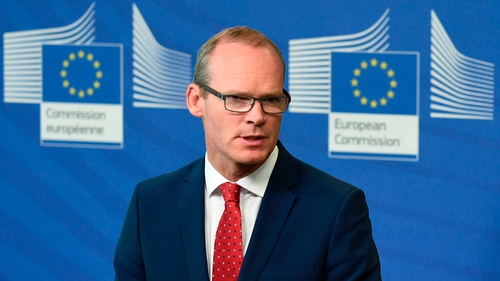 """""""If there is no progress on the backstop, we are in for an uncertain summer,"""" Simon Coveney told the Irish Times"""