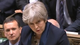 May suffers defeat in crucial Commons Brexit vote | RTÉ News