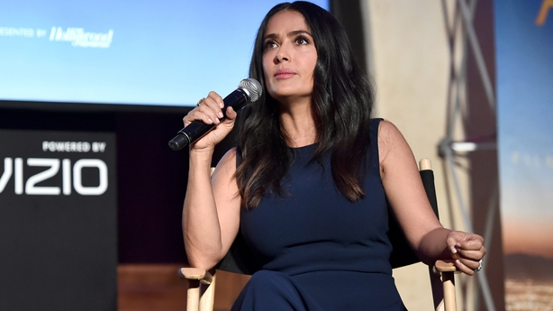 Harvey Weinstein claims that Salma Hayek's sexual harassment allegations are