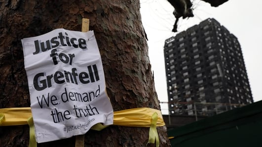Vigil for Grenfell Tower victims takes place tonight