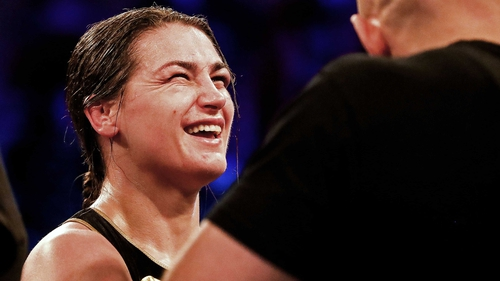 Katie Taylor defends WBA light heavyweight belt in thrilling Jessica McCaskill bout