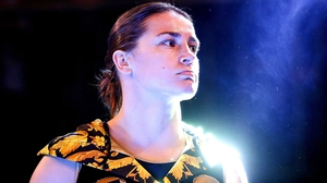 Katie Taylor made it eight pro wins out of eight in London last night