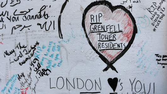 Grenfell Tower fire: One year on